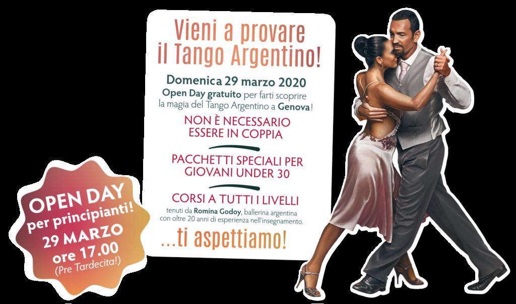 Open Day di Tango Argentino a Genova