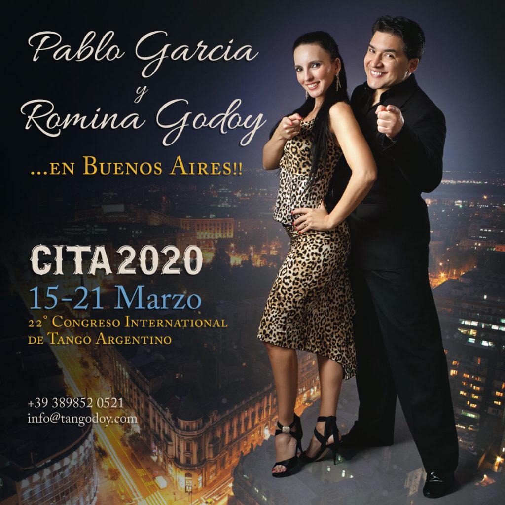 Romina Godoy y Pablo Garcia at CITA2020