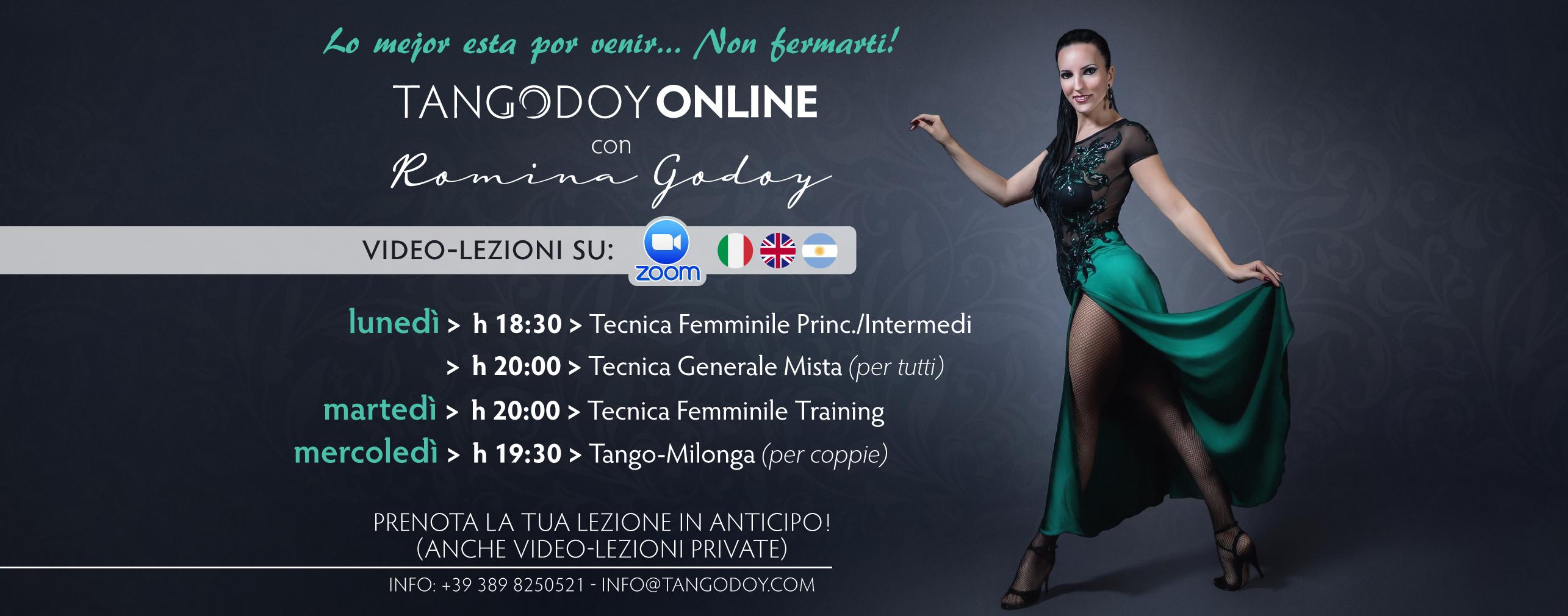 Corsi Online su Zoom con Romina Godoy
